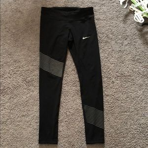 Women's Nike Dri-Fit tights. Size Medium